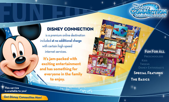 DISNEY CONNECTION MARKETING SITE