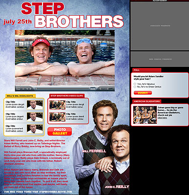 STEP BROTHERS SPLASH