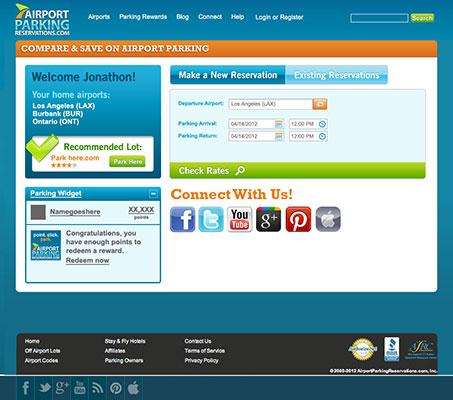 Web Page UI