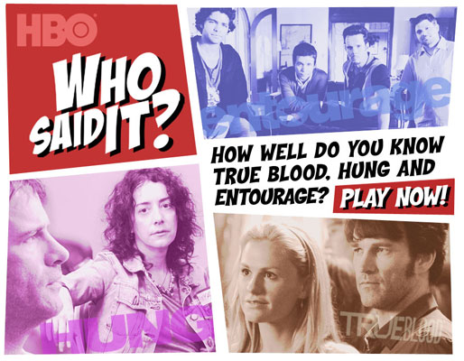 HBO'S WHO SAID IT QUIZ