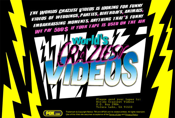 WORLD'S CRAZIEST HOME VIDEOS