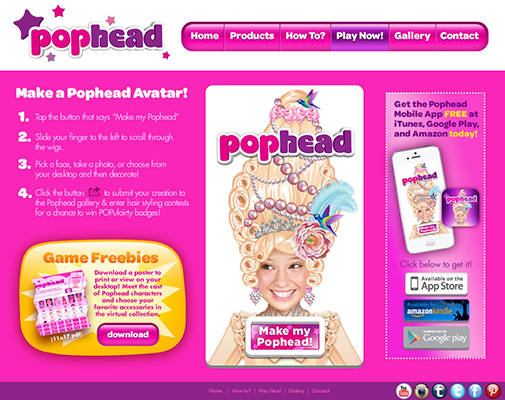 MyPophead.com Play Now!